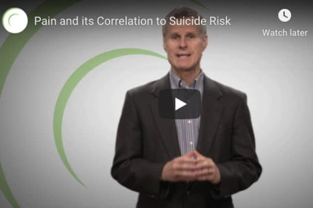 Pain and its Correlation to Suicide Risk